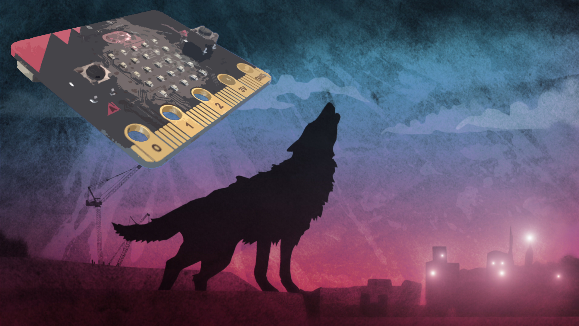 Wolfblood microbit Promo