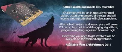 CBBC Wolfblood micro:bit